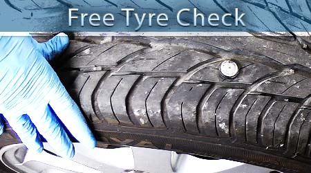 free tyres check in chesterfield, dronfield